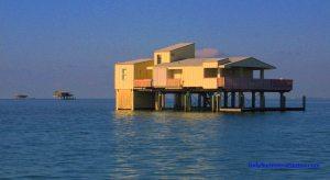 Stiltsville key Biscayne downtown Miami ecotourfla ecotourusa kayak south florida fort lauderdale